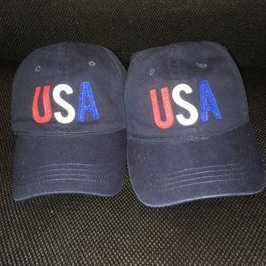 Old Navy USA Dad Hats NWT